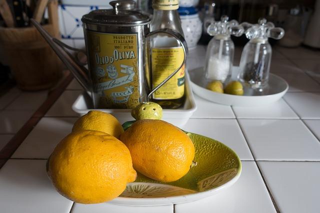 bienfaits huile d'olive et citron