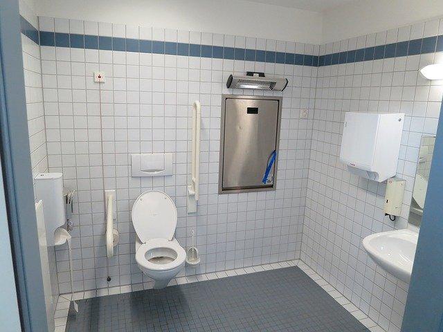 Dimension pour wc handicapé
