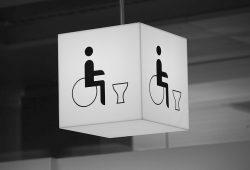 Dimension pour toilette handicapé