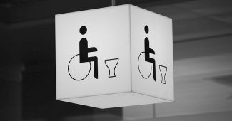 Dimension pour toilette handicapé